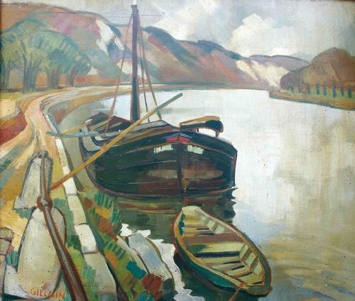 Maison de la bd » jijé » oeuvre » peinture » galerie 1